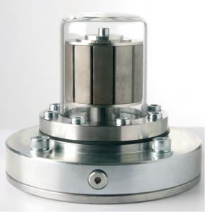 Hriadeľová magnetická spojka DST s patentovanou deliacou nádobou zo skla